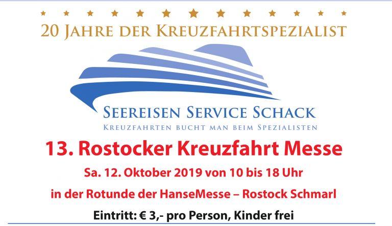 13.Rostocker Kreuzfahrtmesse